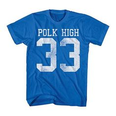 Married With Children Polk High Blue T-Shirt