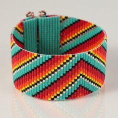 Hey, I found this really awesome Etsy listing at https://www.etsy.com/listing/199912591/mexican-rainbow-serape-bead-loom
