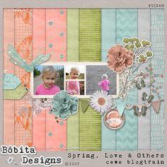 Spring, Love & Others mini kit freebie from Bóbita Designs
