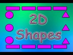 Another great educational song! This kids video covers 2D shapes. Circles, Squares, Triangles, Rectangles and Ovals are all shown on screen. Kids draw the shapes in the air using their arms. Also, the video shows real life examples of the shapes!