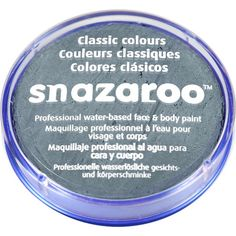 Dark Grey Snazaroo Face Paint - Pot - Halloween Face Paint (each) Marshall Lee Cosplay, Painted Sticks, Painted Pots, Dark Grey, Halloween Face, Fragrance, Delicate, Soap, Warm