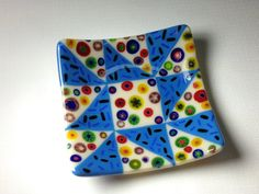 Fused Glass Plate  Quilt Pattern by DancingGlass on Etsy, $20.00