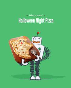 #Halloween Night Pizza
