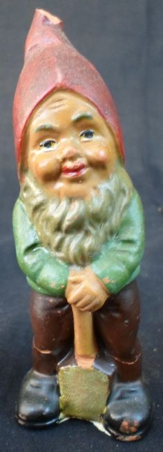 Vintage garden gnome