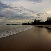 Tide slowly reaching up on the golden sands of Hat Yao beach, Thailand. Trueworldtravels.com