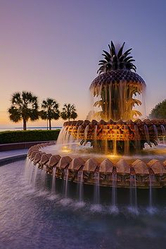 Pineapple Fountain Check out the Best Local Deals in Charleston, SC. https://gocharlestondeals.com/current-deals/