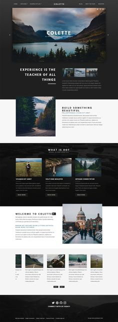 Travel Website Design, Website Design Layout, Web Layout, Simple Web Design, Minimal Web Design, Pag Web, Business Web Design, Desktop Design, Website Design Inspiration