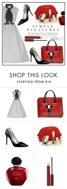 """""""TwinkleDeals 18."""" by selmir ❤ liked on Polyvore featuring Dolce&Gabbana, Christian Dior, Kevyn Aucoin, vintage and twinkledeals"""