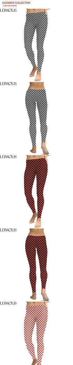 dc3177a959 LEIMOLIS 3D printed Mosaic Plaid white black harajuku sexy plus size high  waist push up fitness workout leggings women pants