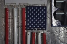 Flag wind chime.