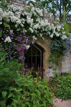 TheOpalDreamCave: Title barn ruins garden. Photo by Karl Gergens. If you have a chance, then please do check out my blog. Thanks! xx Amara....