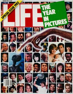LIFE Magazine January 1983 - Year in Pictures 1982 Special Issue