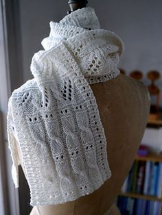 Ravelry: Sky Ladder Scarf pattern by Anne Hanson