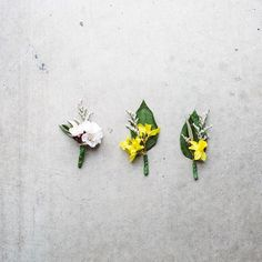 Little spring time boutonniere
