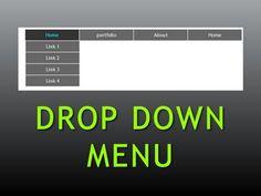 Dreamweaver Tutorial : Pure CSS Drop down menu , Part Dreamweaver Tutorial, Adobe Dreamweaver, Web Design, Graphic Design Tutorials, Illustrator Tutorials, Photoshop Illustrator, Muse Widgets, Instructional Design, Photoshop Tutorial