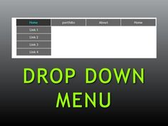 Dreamweaver Tutorial : Pure CSS Drop down menu , Part -1 - YouTube ------ best walkthrough #css #dropdownmenu