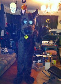 me as Scooby Doo