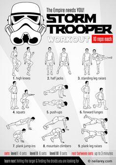 Stormtrooper Recruitment Workout