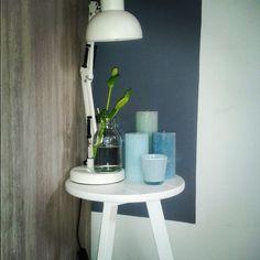 Home...!! nieuwe kleuren in huis.. daar wordt ik blij van..! #blauw #groen #mint #home #intrieur
