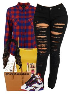 """""""the shoes """" by x0-chelseaa ❤ liked on Polyvore featuring Levi's, WearAll, Clarins, Michael Kors, Forever 21 and Aéropostale"""