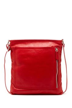 Paola Leather Messenger Bag by Merci Marie Handbags on @nordstrom_rack