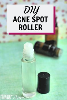 Zap them fast with this all-natural, homemade acne spot treatment (best for all skin types! Acne Spot Treatment Diy, Homemade Acne Treatment, Natural Acne Treatment, Homemade Acne Remedies, Acne Treatments, Natural Acne Remedies, Hair Remedies, Vitamine E Oil, Juniper Berry Essential Oil