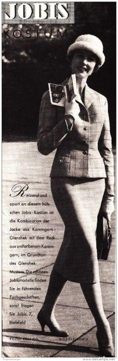 Original-Werbung/Anzeige 1957 - JOBIS MODELL - BIELEFELD - ca. 65 x 220 mm5