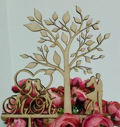 Rustic Wedding Cake Topper Personalized Cake by caketoppersshop667