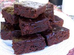 Skinny Black Bean Brownies