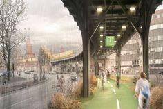 Berlin en route vers l'aménagement d'une autoroute cyclable couverte