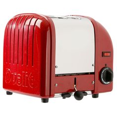 #Icons of Design: Dualit toaster. Designer: Max Gort-Barten. Date: 1950's. Company: Dualit. Website: www.dualit.com/timeline