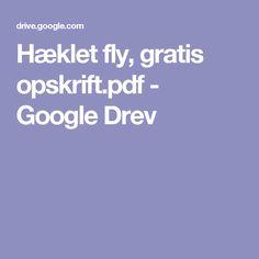 Hæklet fly, gratis opskrift.pdf - Google Drev