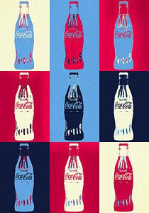 art painting Coca Cola Bottle Pop Art Poster by Dan Sproul Andy Warhol Pop Art, Andy Warhol Marilyn, Coca Cola Wallpaper, Pop Art Wallpaper, Iphone Wallpaper, The Velvet Underground, Stephen Shore, Jean Michel Basquiat, Pop Art Vintage