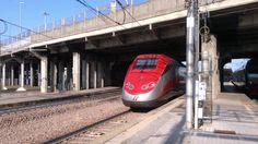 Treni Alta Velocita - Stazione di Padova Italy. 2016