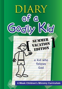 FREE Diary of a Godly Kid Back to School Children's Ministry Lesson by Children's Ministry Deals Bible Lessons, Lessons For Kids, Object Lessons, Childrens Ministry Deals, Children Ministry, Ministry Ideas, Youth Ministry, Kids Church, Church Ideas