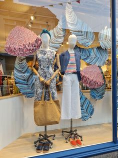 SS21 Sub-tropical window display, Summer Styling SS21 Tropical Windows, Garden Windows, Window Displays, Tropical Garden, Summer, Crafts, Inspiration, Style, Display Cases