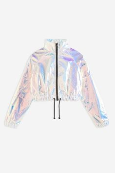 Womens **Blue Hologram Jacket By Jaded London - Blue Source by Cute Comfy Outfits, Cute Girl Outfits, Stylish Outfits, Kids Outfits, Cool Outfits, Girls Fashion Clothes, Teen Fashion Outfits, Girl Fashion, Clothes For Girls