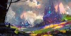 unknown world, Zudarts Lee on ArtStation at https://www.artstation.com/artwork/unknown-world-bd80c201-f394-4207-a377-c598c71b97f4