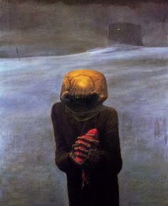 Les tableaux morbides de Zdzisław Beksinski    tableaux morbides de Zdzislaw Beksinski 14