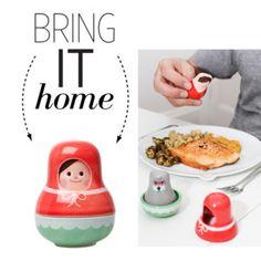 Bring It Home: Riding Hood Salt & Pepper Set