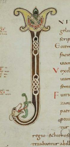 porrentruy bibliothque cantonale jurassienne ms 34 liber evangeliorum et capitulare 2e