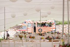 If you are keen to serve your guests something a little different at your wedding, why not consider a food truck?