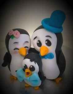 Penguin family!  by Ele Lancaster