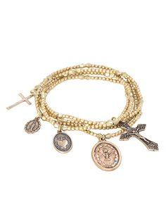 The Wild West Gold Bracelet Set