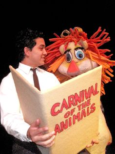 Carnival of the Animals with PUPPETS! It makes classical music accessible to almost everyone. (I'm crossing my fingers with The Cookies.)