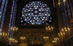 Sainte Chapelle, Paris France