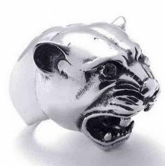 Anello in acciaio tigre #motociclista #motorbiker