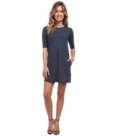 Susana Monaco Pocket Shift Dress