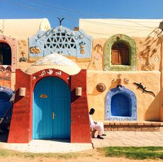 """Ahmed Saeed describes Egypt's Gharb Sehel as a village filled with """"colorful houses, kind warm people and mesmerizing views of the Nile."""" He received the """"Travel"""" award."""