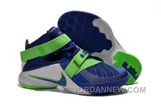 """http://www.jordannew.com/nike-lebron-soldier-9-sprite-mens-basketball-shoes-for-sale.html NIKE LEBRON SOLDIER 9 """"SPRITE"""" MENS BASKETBALL SHOES FOR SALE Only $99.00 , Free Shipping!"""